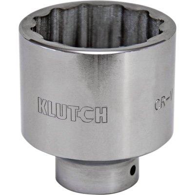 Klutch Socket - SAE 2 14in 34in-Drive 12-Pt
