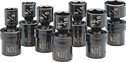 Ingersoll Rand SK4H7UN 12 Drive SAE Universal Impact Socket Set 7 Piece