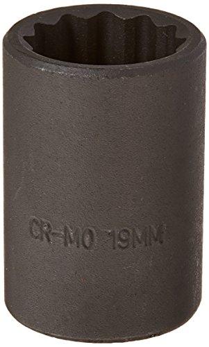 Sunex 219zm 12-Inch Drive 19-mm 12-Point Impact Socket