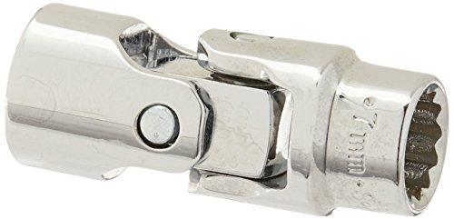 SK Hand Tool 43407 12 Point 14-Inch Drive Flex Socket 7mm Chrome
