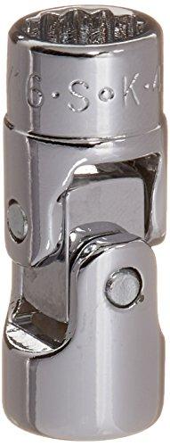 SK Hand Tool 43610 12 Point 14-Inch Drive Flex Socket 516-Inch Chrome