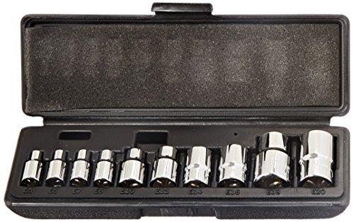 ATD Tools 178 10-Piece Star Socket Set