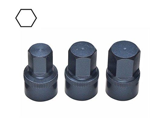 Rare Set Short Hex Tools 12mm 13mm 14mm Sockets BMW Vw Audi Porsche