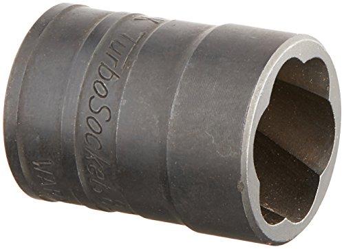 SK Hand Tool 824S 19mm - 34-Inch Standard Drive Socket Turbo 38-Inch