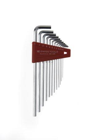 PB Swiss PB-214 H-12 Long Chrome HexAllen Key Set