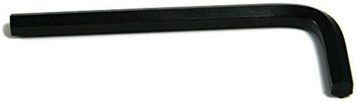 Short Arm Black Hex Allen Key Wrench 964 Inch - Qty 25
