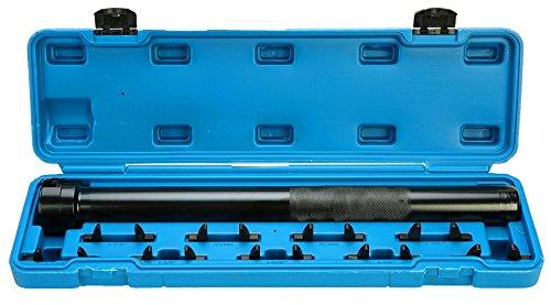 8MILELAKE Auto Car Truck Inner Tie Rod Tool Installer Remover Crews Foot Wrench Kit WCase