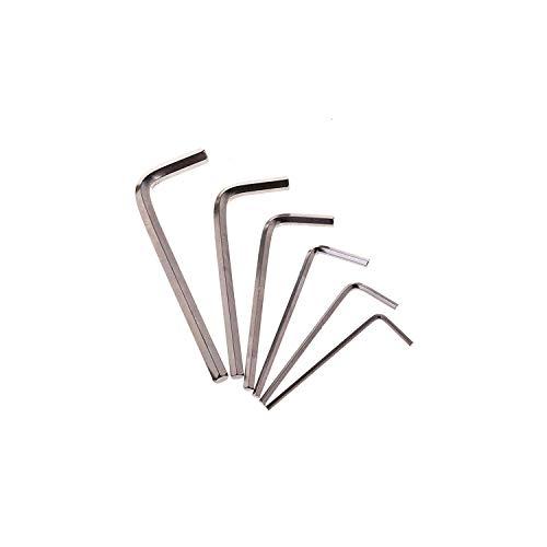 Hex Key 6p pack Hex Wrench set Screwdriver Repair Tool Hex Wrench Hex Key Alloy Steel Hex Key Screw Driver L-Key Tool