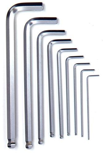 Powerbuilt 640082 Metric Hex Wrench Set 9-Piece