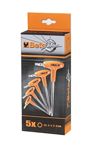 96TS5P Metric Offset Hexagon Key Wrenches with Handle