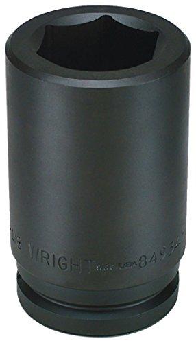 Wright Tool 849-60MM 60MM 1-12-Inch Drive 6 Point Deep Metric Impact Socket