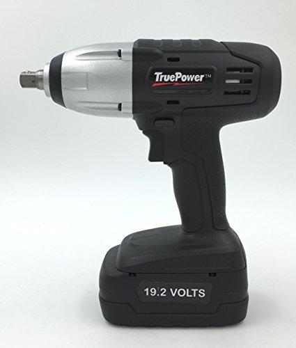 Gino Development 01-0100 192V TruePower 300 ftlbs 12 Drive Cordless Impact Wrench Kit