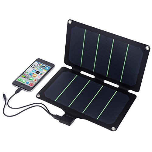 Ultralight 11W foldable portable Solar Charger waterproof solar panels