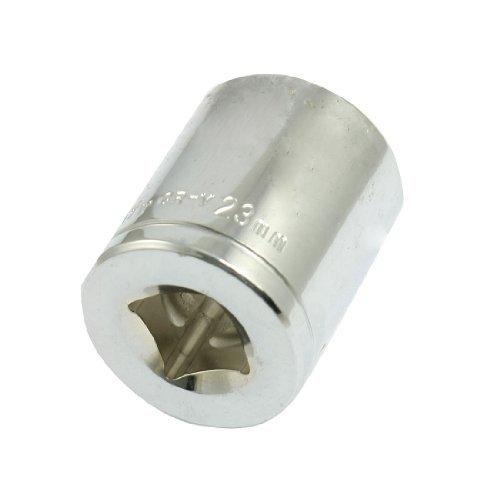DealMux a12052400ux0355 Chrome-vanadium Steel 23mm 6 Pt Hex Socket 12 Drive Wrench