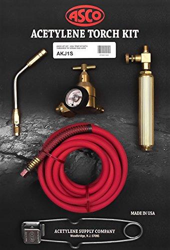Acetylene Torch Kit wSpring End Hose AKJ1S JET Air