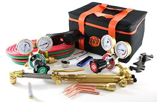 SÜA 25 Series Gas Welding Cutting Kit Oxygen Torch Acetylene Welder Outfit