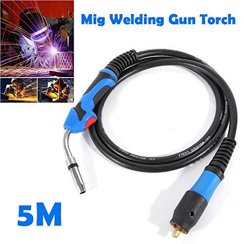 165 200A-300A Mig Welding Gun Torch Stinger Parts Welder Welding Gun Euro Connector MB-24KD US Stock
