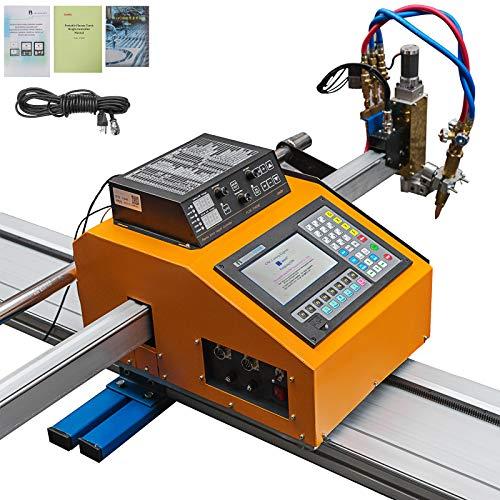 Mophorn 63W x 118L Inch Effective Cutting CNC Plasma Cutter Professional Plasma Cutting Machine 110V Flame Cutting Machine CNC Plasma Cutter Machine for Plasma Gas Cutting Equipment