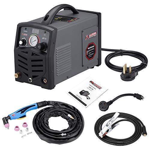 Amico APC-50 50 Amp Plasma Cutter 115230V Dual Voltage Compact Metal Cutting Machine 34 Clean Cut