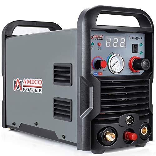 Amico CHF-40 40 Amp Plasma Cutter Non-touch Pilot Arc 35 in Clean Cut 120240V Dual Voltage Cutting Machine