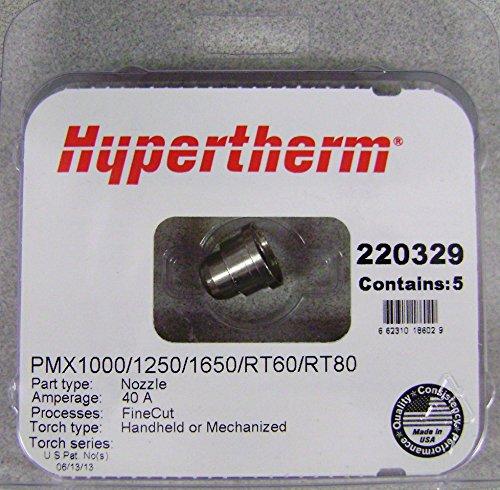 Hypertherm 220329 Nozzle Finecut Pkg  5