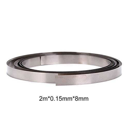 Owlhouse Pure Nickel Belt Solder Nickel 18650 Lithium Battery Solder Compatible Spot Welder Pure Nickel Solder Tape