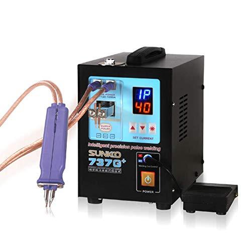 SUNKKO 737G Battery Spot Welder Pulse Welding Machine for 18650 14500 Lithium Batteries Battery Pack Work With Nickel Strips 035mm