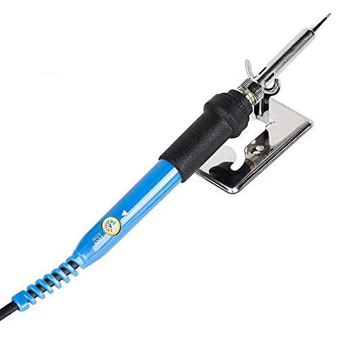 Jcsolder 110V 220V 60W Electric Soldering Iron 908 Adjustable Temperature Solder Iron With Soldering Iron Stand Blue 220V CN