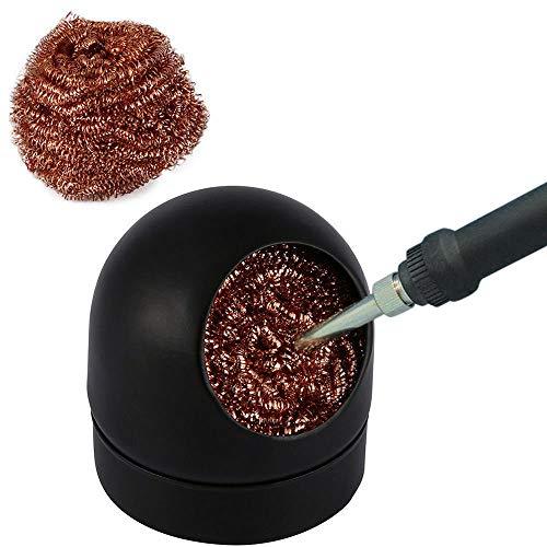 FidgetKute Soldering Solder Iron Tip Cleaner Steel Cleaning Wire Ball Heavy Duty Welding cn Show One Size