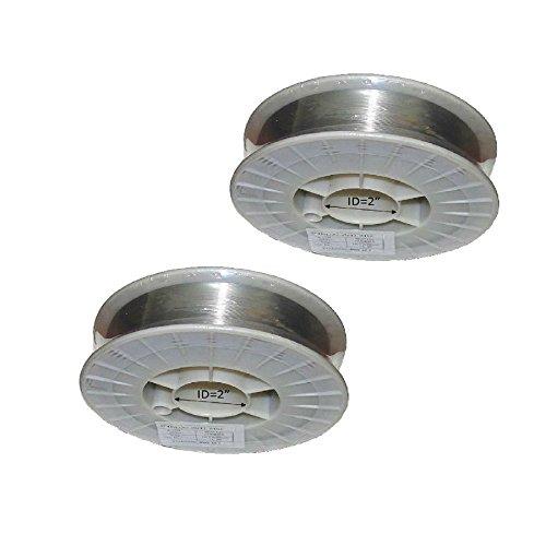 WeldingCity 2-pk ER309L Stainless Steel MIG Welding Wire 11-Lb Spool 0030 08mm 2 Rolls