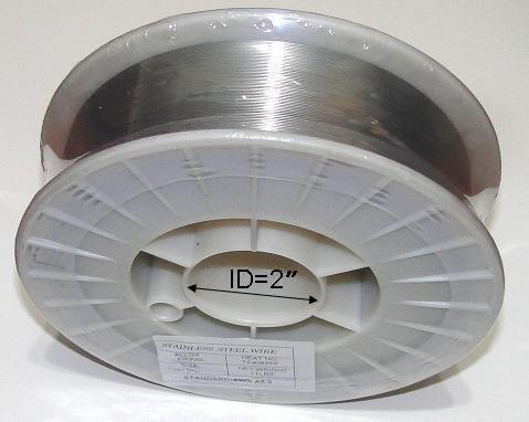 WeldingCity ER308L Stainless Steel MIG Welding Wire 11-Lb Spool 0030 08mm
