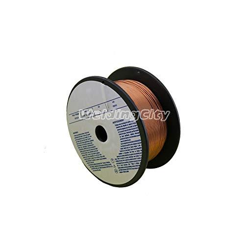 WeldingCity ER70S-6 ER70S6 Mild Steel MIG Welding Wire 2-Lb Spool 0030 08mm