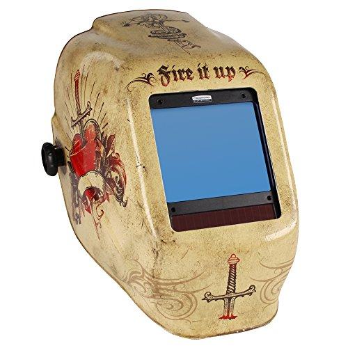 Jackson Safety 30314 Tattoo HLX Welding Helmet with TrueSight Digital ADF Case of 2