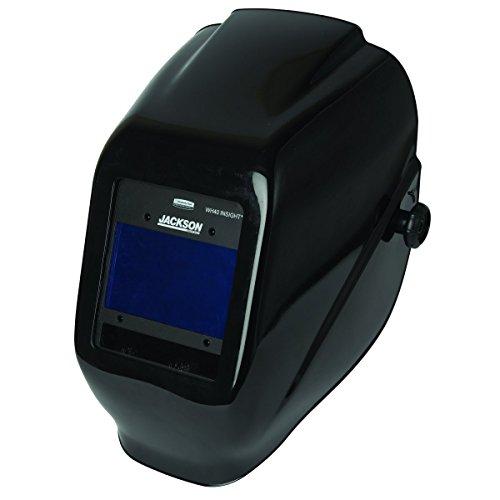 Jackson Safety W40 Insight Variable Auto Darkening Welding Helmet HaloX Black 40713 1 Unit