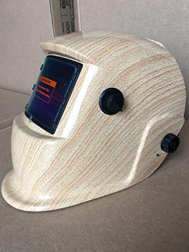 Auto DarkeningGrinding Solar Powered Welding Helmet Mask Hood