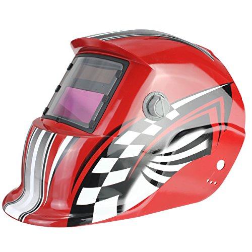 AUDEW Pro Solar Auto Darkening Welding Helmet Grinding Welder Mask ACF