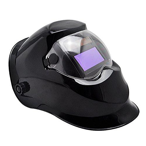 Denshine Pro Solar Auto Darkening Welding Helmet Arc Tig Mig Mask Grinding Welder Mask Black