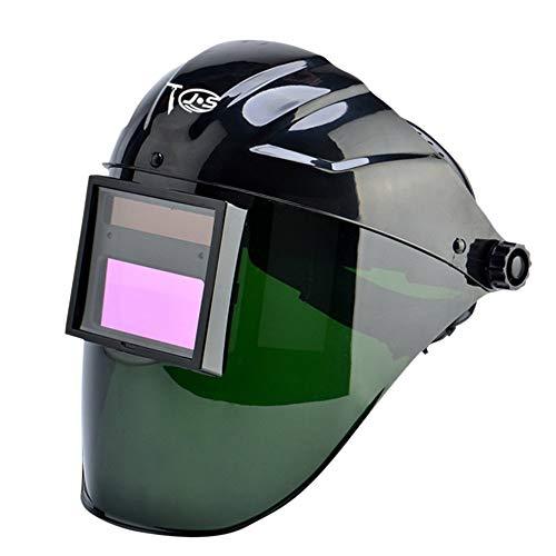 Holulo Welding Helmet for MIG TIG ARC MMA Solar Auto Darkening Welding Hood Wide Viewing Field Professional Welding Mask Conventional dark green