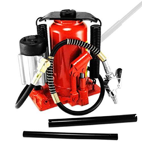 20 Ton Air  Manual Pneumatic Hydraulic Bottle Jack Lift Repair ToolNEW