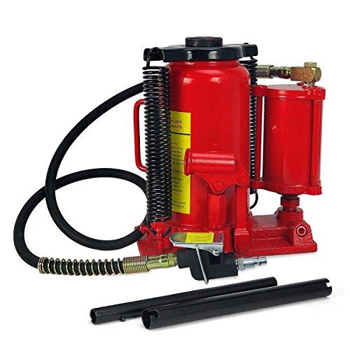 New MTN-G Low Profile Air Hydraulic Bottle Jack 20 Ton Jacks Automotive Lift Tools
