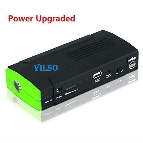 Vilso Power D28 400 Amp Peak With 13600mAh Portable Car Battery Jump Starter