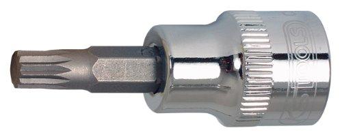 SK Hand Tool KS Tools 38 CHROMEplus Bit Socket Spline XZN M6 Clear