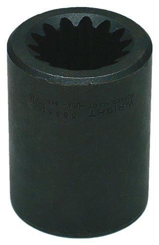 Wright Tool 5993 5 Spline Drive Square Impact Socket