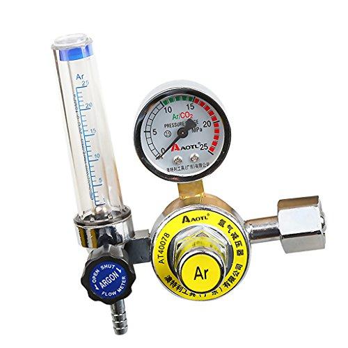 Dovewill 0-25MPa Argon Regulator CO2 Gas Mig Tig Flow Meter Gauge For Mig Welding