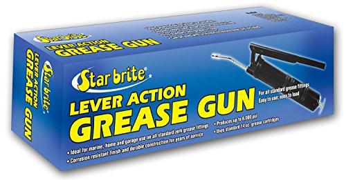 Star Brite Standard Duty Lever Grease Gun for Cartridge 14-Ounce