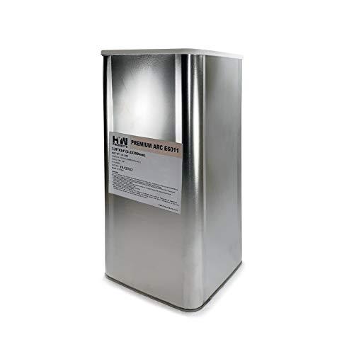 50 lb Steel Can E6011 18 Stick electrodes welding rod E6011 18