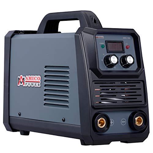 Amico ARC-160 160 Amp Stick Arc DC Inverter Welder 100~250V Wide Voltage Welding Soldering Use E6010 E6011 E6013 E7014 E7018