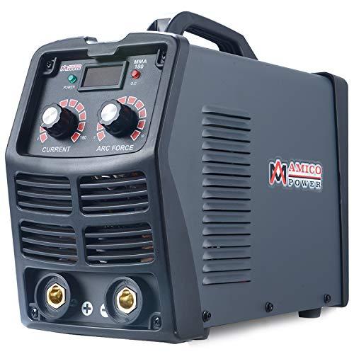 Amico MMA-180A Stick ARC DC Inverter Welder 120240V Dual Voltage Welding E6010 E6011 E6013 E7014 E7018 etc
