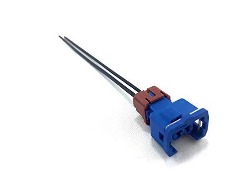 Blue 2pin 300ZX Fast IdleAir Regulator Connector Repair harness For Nissan