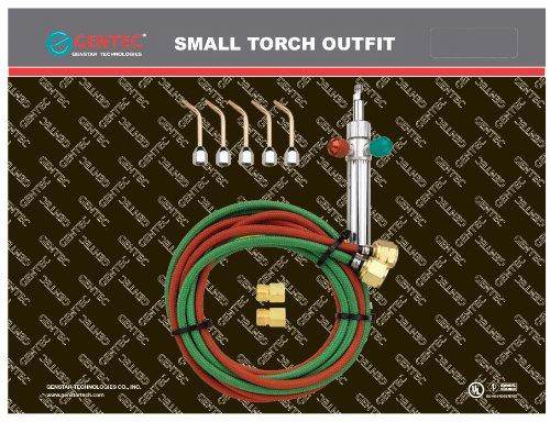 Gentec Small Torch Basic Kit for OxyAcetylene  SOL-22500
